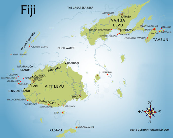 Fiji Fun Facts General Info The Beach Travel Insider